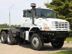 Рассекретили характеристики нового капотного тягача КамАЗ