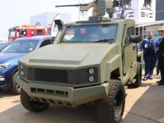 Max 3: броневик на базе Toyota Land Cruiser 79