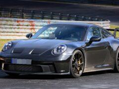 Новый Porsche 911 GT3 впервые сфотографировали без камуфляжа
