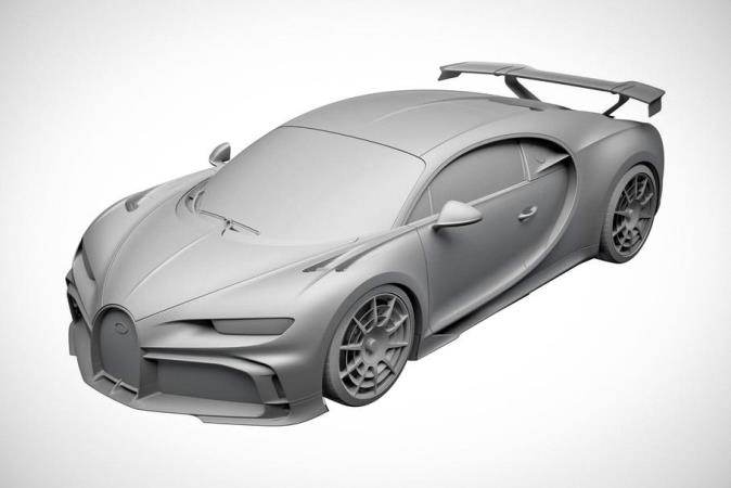 Bugatti Chiron Pur Sport, гиперкар, патент