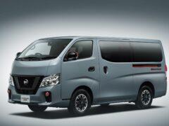 Nissan представил модель NV350 в новой модификации Black Gear