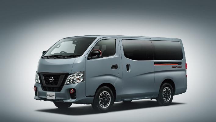 Nissan NV350 Black Gear