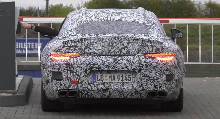 Mercedes-AMG SL 2022 года
