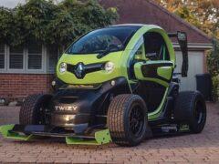 Электрический микрокар Renault Twizy F1 не удалось продать