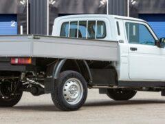 Бортовая платформа и фургон на базе Lada 4×4: цены и характеристики