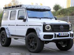 Компания Mercedes вывела на тесты модель AMG G-Class