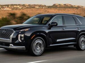 Hyundai запланировал обновление Palisade и Sonata на 2022 год