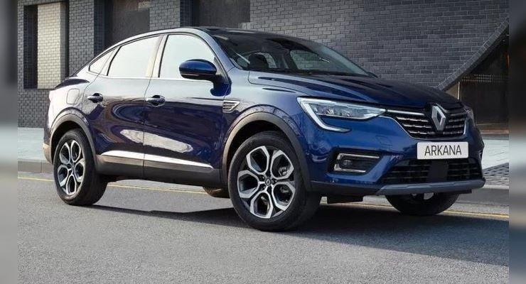 Renault Arkana, для Чили