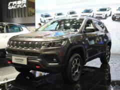 Jeep официально представил обновленный Compass