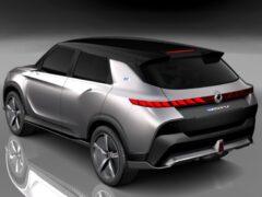 Электровнедорожник SsangYong E100 презентуют в марте 2021 года