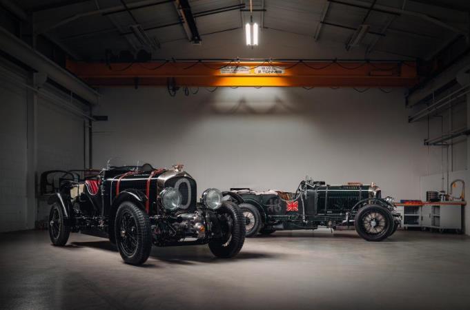 Bentley, 90-летний спорткар, копия