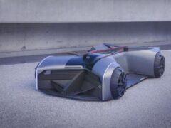 Компания Nissan показала прототип GT-R для 2050 года