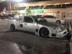 В Сети показали реплику неординарного спорткара Mercedes-Benz CLK GTR