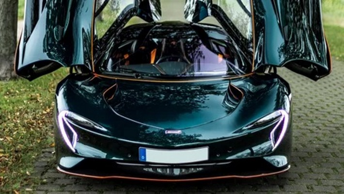 McLaren Speedtail, спорткар