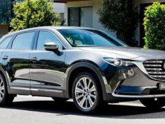 Mazda представила обновленный кроссовер Mazda CX-9