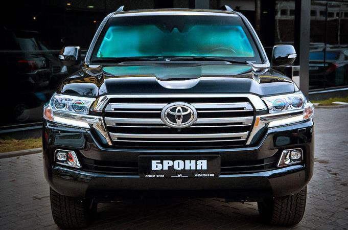 Toyota Land Cruiser 2020, броневик