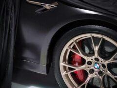 """Опубликован видеотизер """"заряженного"""" седана BMW M5 CS"""