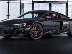 Audi подготовила для суперкара R8 RWD спецверсию Panther Edition