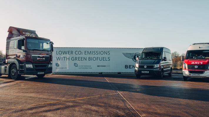 Bentley, возобновляемое инновационное топливо