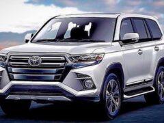 Появились подробности о новых Toyota Land Cruiser 300 и Prado