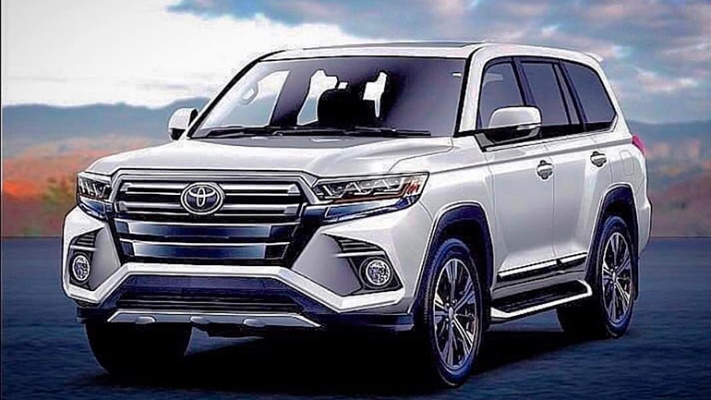 Toyota Land Cruiser 300, новый