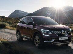 Renault обновила свой флагманский кроссовер Koleos