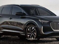 Опубликованы рендеры электрокара Audi Q4 e-tron