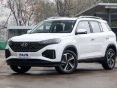 В Китае стартовал прием заявок на обновленный Hyundai ix35