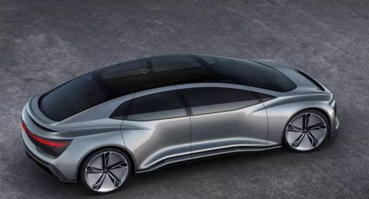 Audi, новый электрокар Landjet