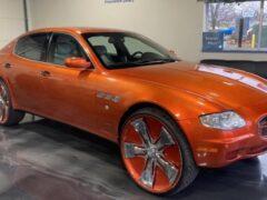 Очень необычный Maserati Quattroporte выставлен на продажу