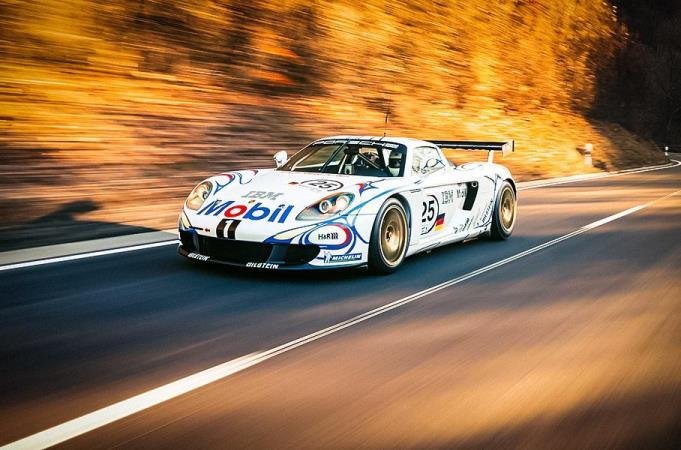Porsche Carrera GT-R, гоночный, тюнинг