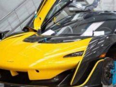 В Сети внезапно рассекретили новый суперкар от McLaren