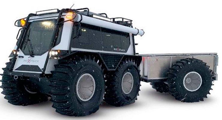 FAT Truck, вездеход, канадский