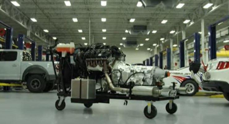 Ford, новый двигатель Megazilla
