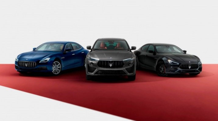 Maserati, обновленные Ghibli, Quattroporte, Levante