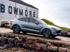 Компания Aston Martin представила спецверсию DBX Bowmore Edition