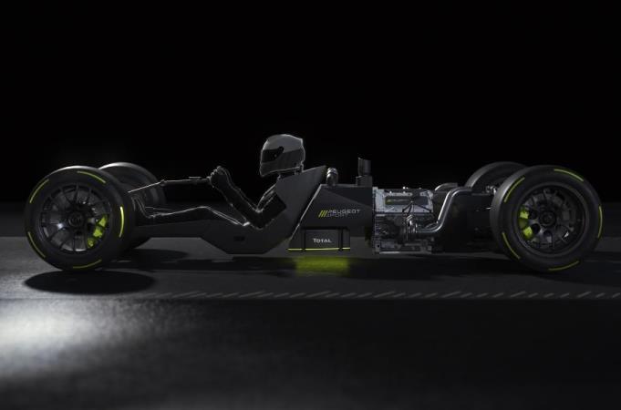 Peugeot, гоночный гиперкар