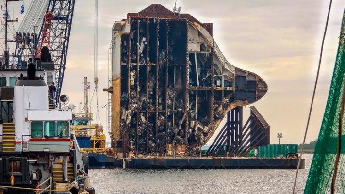 разрезанный корабль