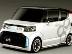 Honda обновила компактный микровэн N-Box
