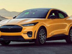 Представлен самый быстрый электрический кроссовер Ford