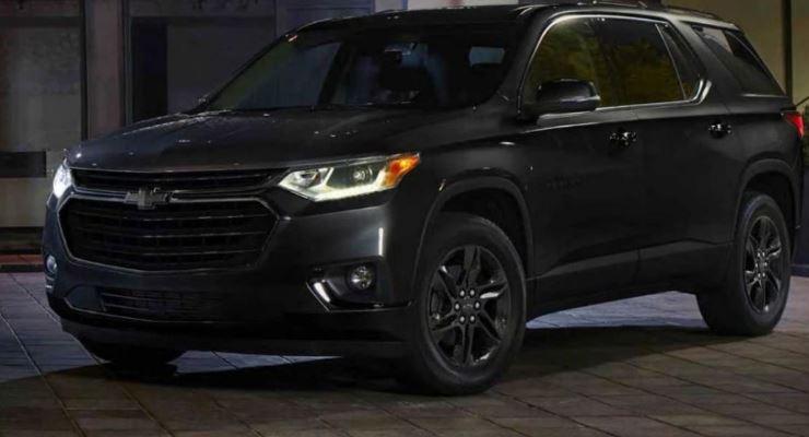Chevrolet Traverse 2021 года
