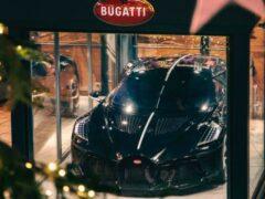 Bugatti La Voiture Noire станет самой дорогой в мире новогодней декорацией