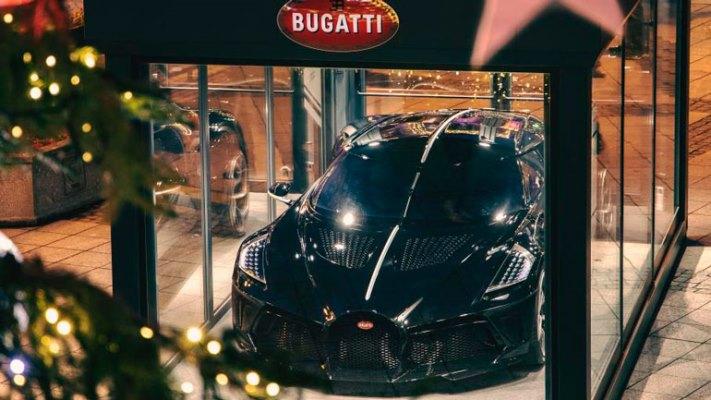 Bugatti La Voiture Noire, гиперкар