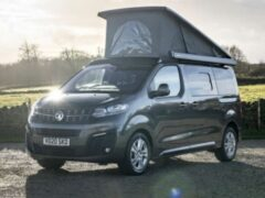 Vauxhall представил кемпер Vivaro Elite Campervan с солнечной панелью