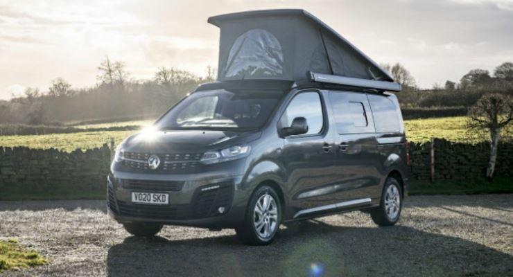 Vauxhall Vivaro Elite Campervan, кемпер