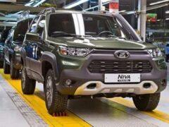 АвтоВАЗ запустил в производство внедорожник Lada Niva с внешностью Toyota RAV4