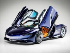 Гиперкар McLaren Speedtail появится на аукционе в 2021 году
