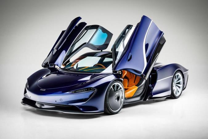 McLaren Speedtail, супергибрид