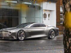 Первым электрокаром Bentley может стать вседорожный седан