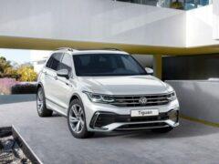 Volkswagen назвал рублевые цены на обновленный Tiguan